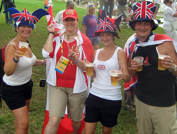 my new British friends