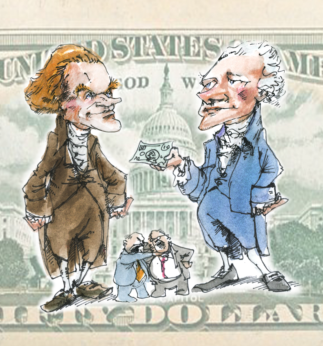 Thomas Jefferson Vs Alexander Hamilton Thomas Jefferson