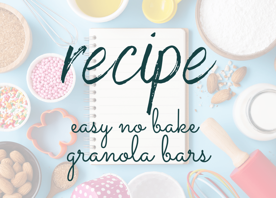 Easy no bake granola bars