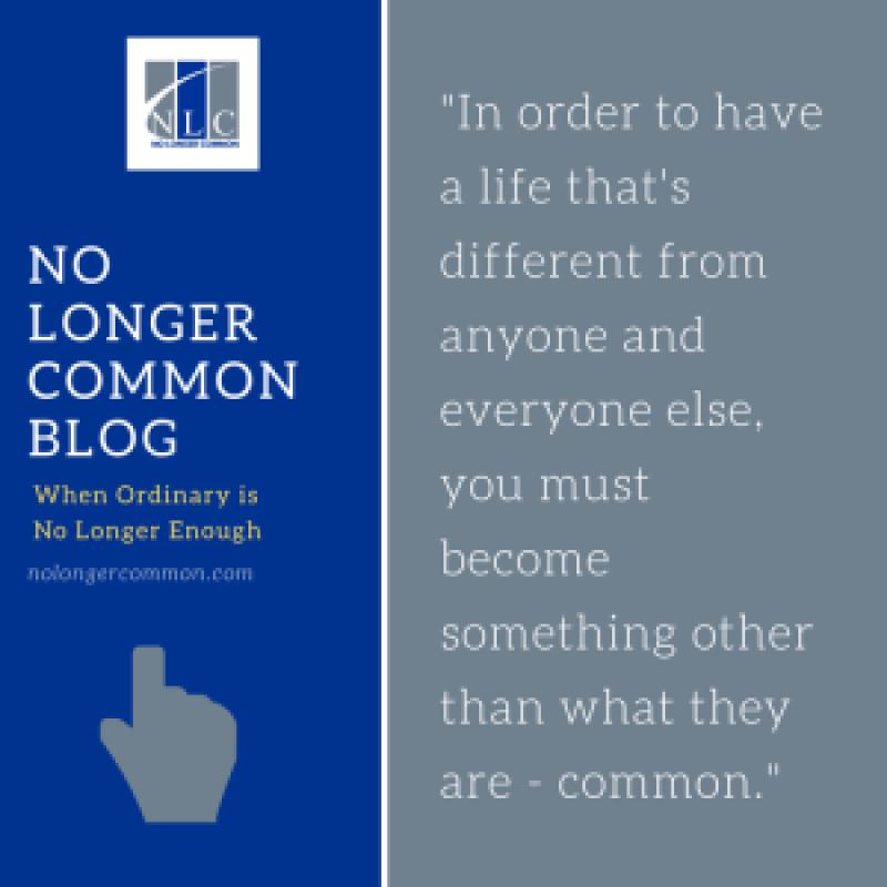 No longer common blog