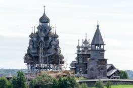 (L) Transfiguration Cathedral (R) Winter Church