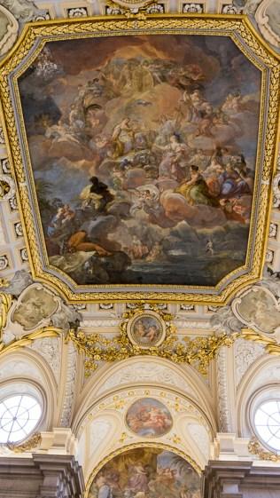 Main starcase ceiling
