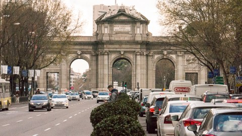 Puerta de Alcala (Alcaia Gate)