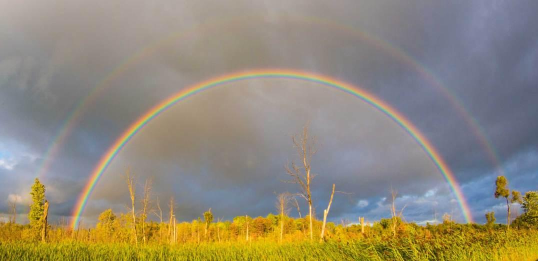 Doulbe rainbow