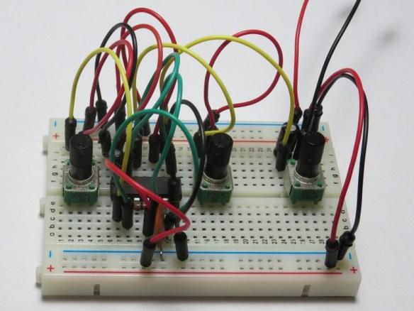 Atari Punk Console on Breadboard using Jumper Wires