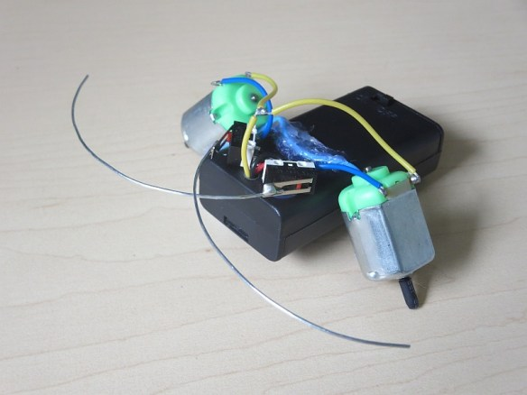 """Homemade robot """"Spout"""" - inspired by Khan Academy project"""