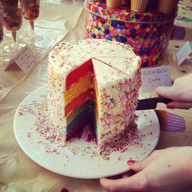 Baking A Rainbow Cake Frequently Asked Questions