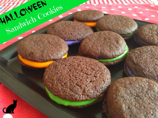 Easy Homemade Halloween Sandwich Cookies