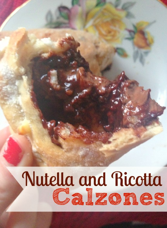 Easy Nutella and Ricotta Calzones by kerrycooks.com