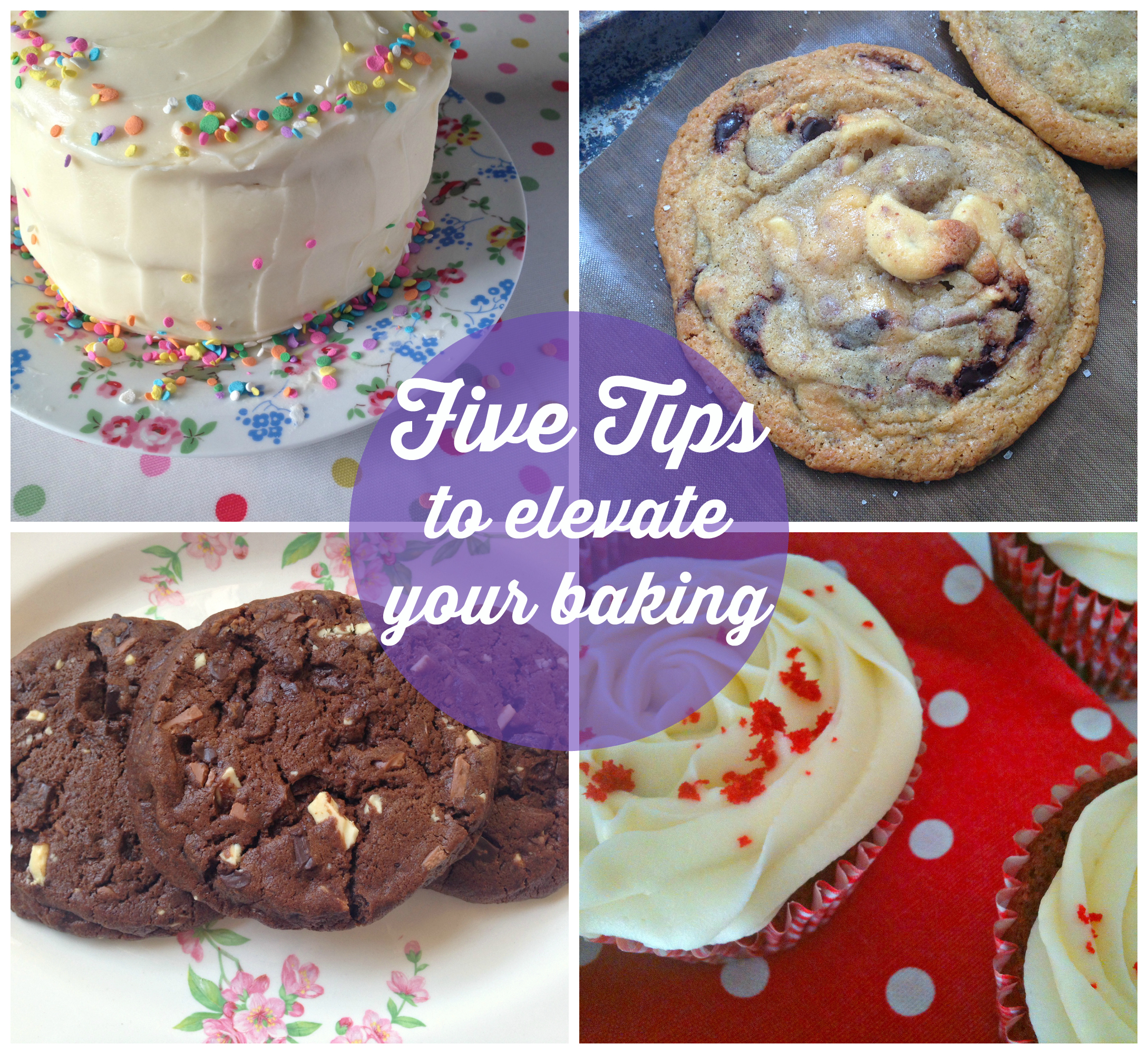 Five Easy Tips to Instantly Improve your Baking