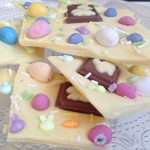 Easter White Chocolate Bark