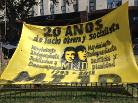 Demonstration sign