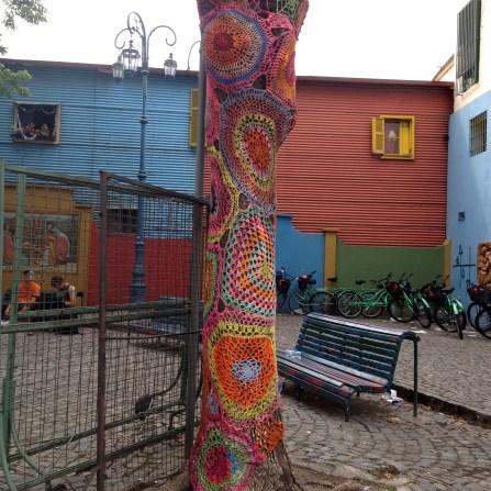 Crocheted Tree Dress