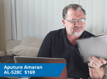 Aputure Amaran AL-528C LED Light Review 7