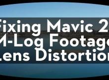 Editing Mavic 2 Pro M-LOG footage with Davinci Resolve 6