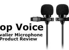 Pop Voice Dual Lavalier Microphone Review 2