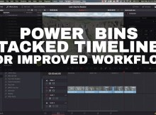 Power Bins and Stacked Timelines - Davinci Resolve 8