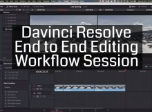 Complete Edit Workflow with Davinci Resolve 7