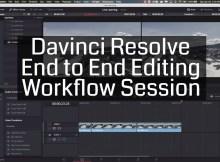 Complete Edit Workflow with Davinci Resolve 1