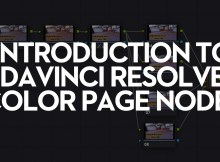 Introduction to Davinci Resolve Nodes 9