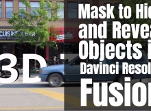 Mask and Reveal Objects With Davinci Resolve Fusion 3