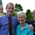 Kerry and her nephew Michael at his recent Wake Forest graduation. Courtesy of Kerry Hannon