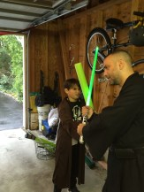 Rowans 8th Birthday Jedi Training (2)