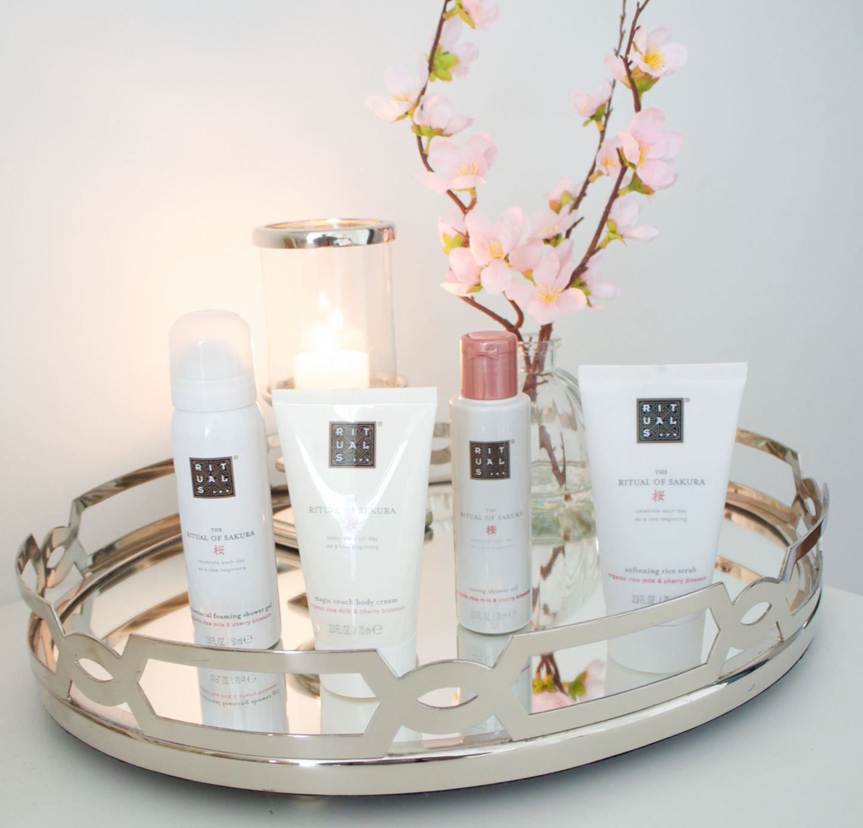 Cruelty free brand Rituals Sakura gift set