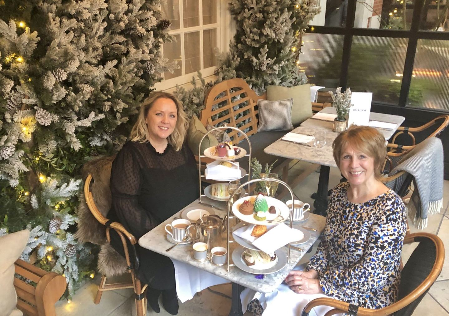 Vegan Afternoon Tea – Dalloway Terrace