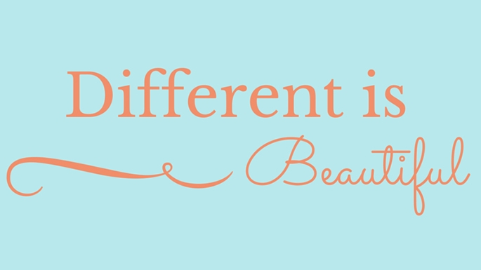 Image result for different is beautiful