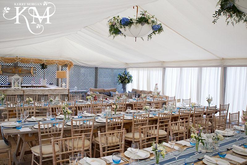 Gallivant hotel wedding decoration