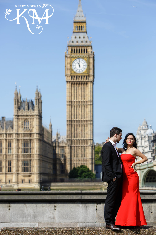 Big Ben engagement shoot