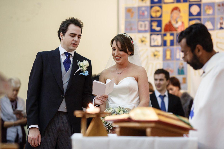 singing at wedding ceremony princes risborough church