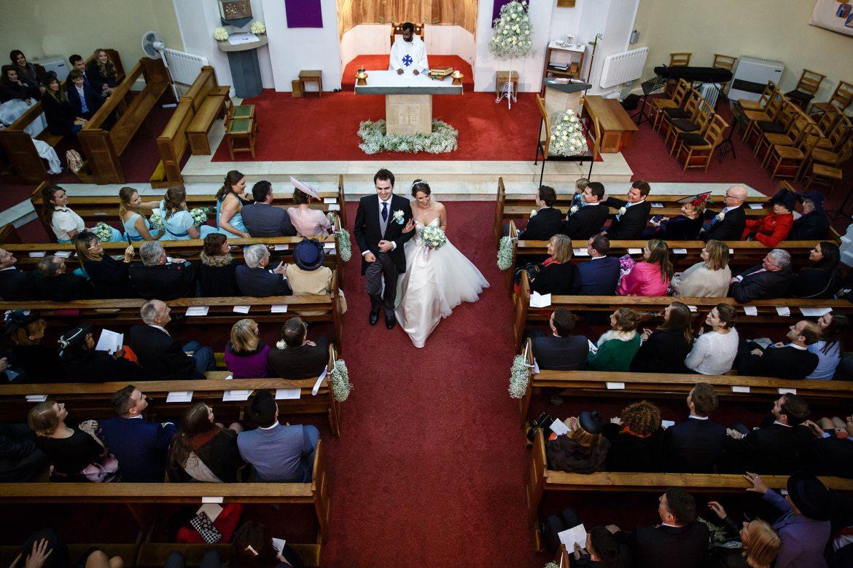 exiting wedding ceremony princes risborough church