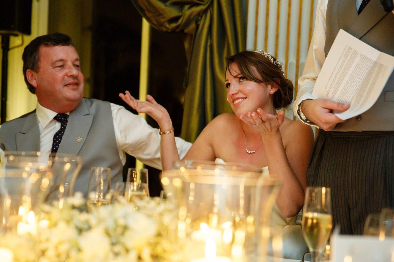 Cliveden House Wedding speeches