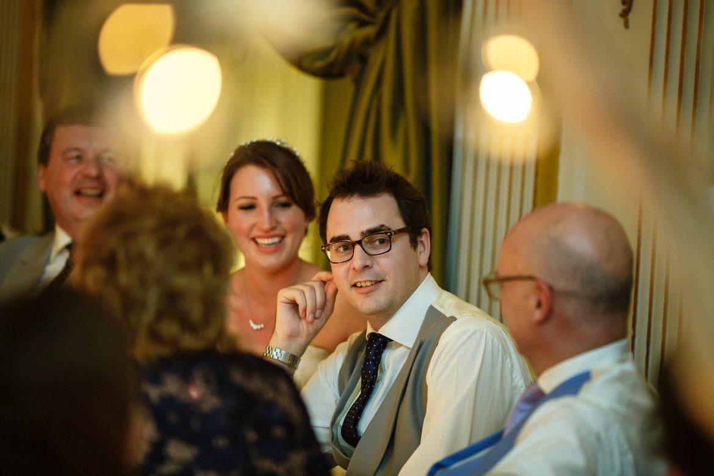 groom at Cliveden House Wedding