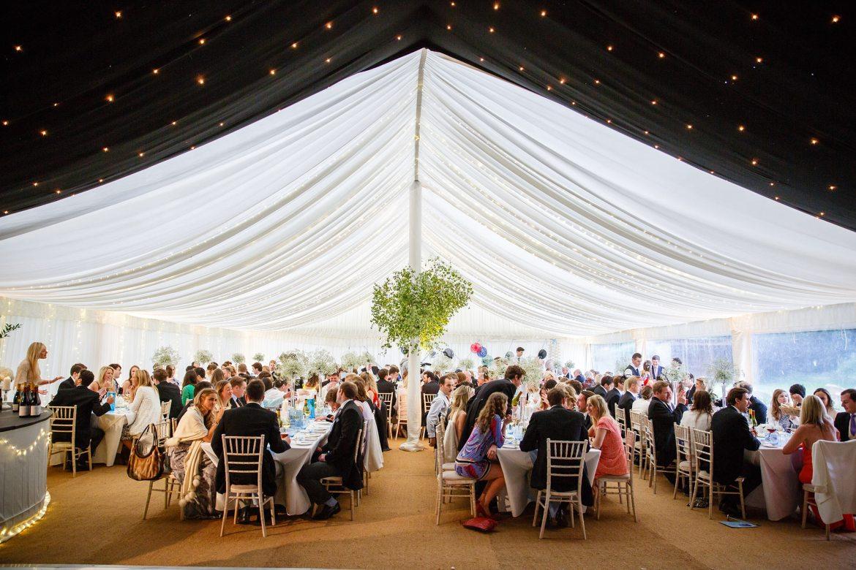 marquee wedding kent