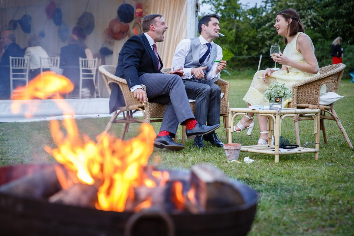 fire pits for weddings