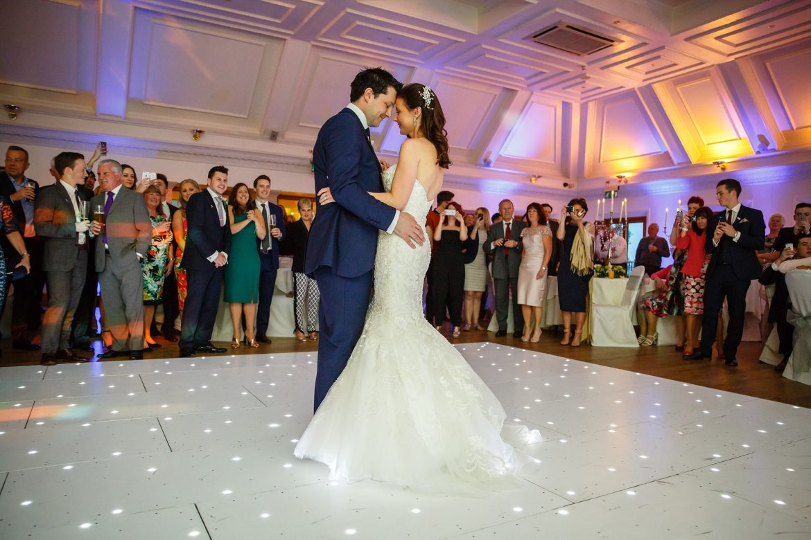first dance at Stock Brook Country Club Wedding
