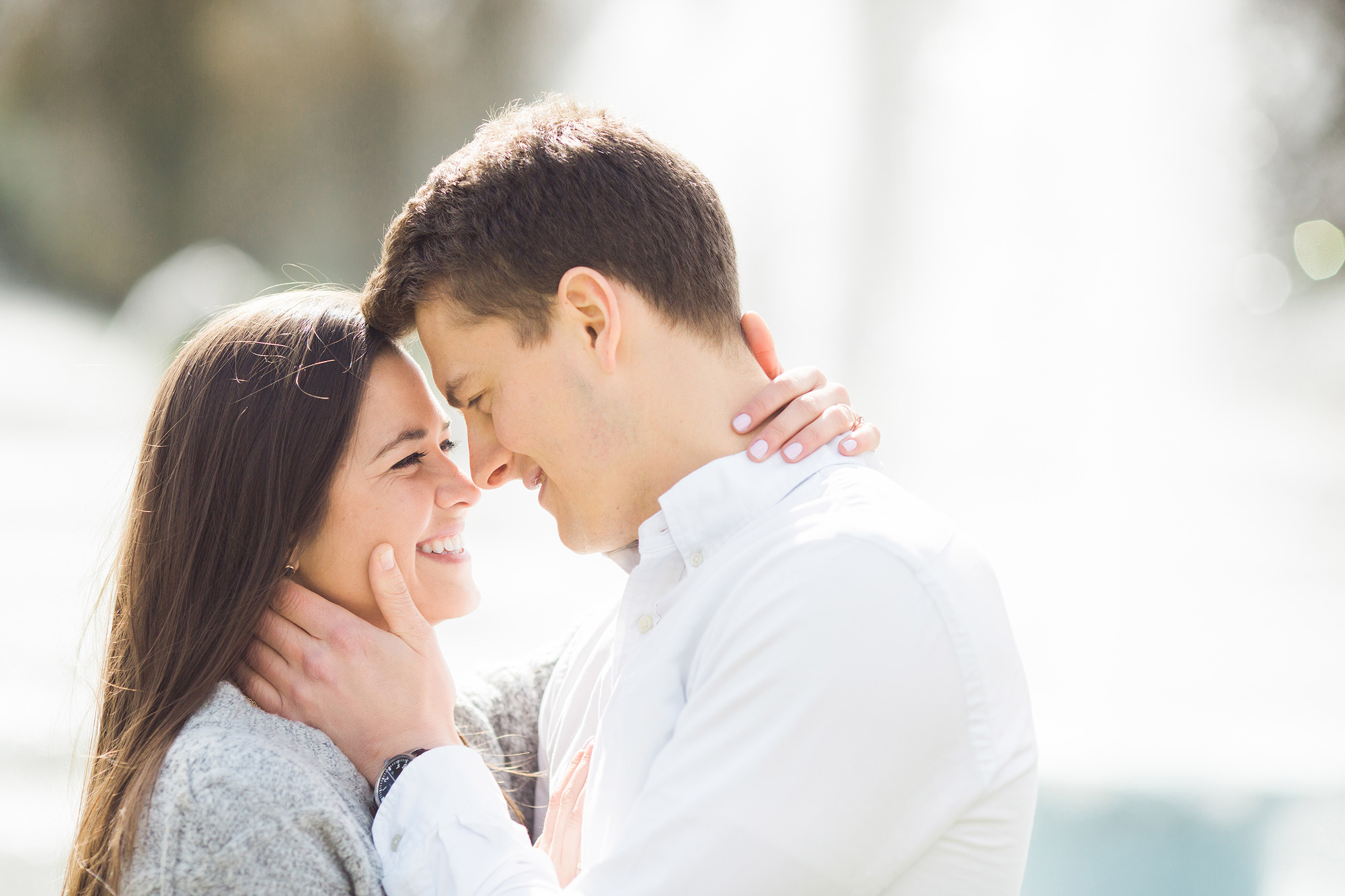 Battersea Park Engagement Shoot