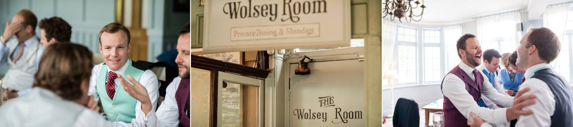 Ushers lunch at the Wolsey R