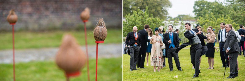coconut shy at wedding