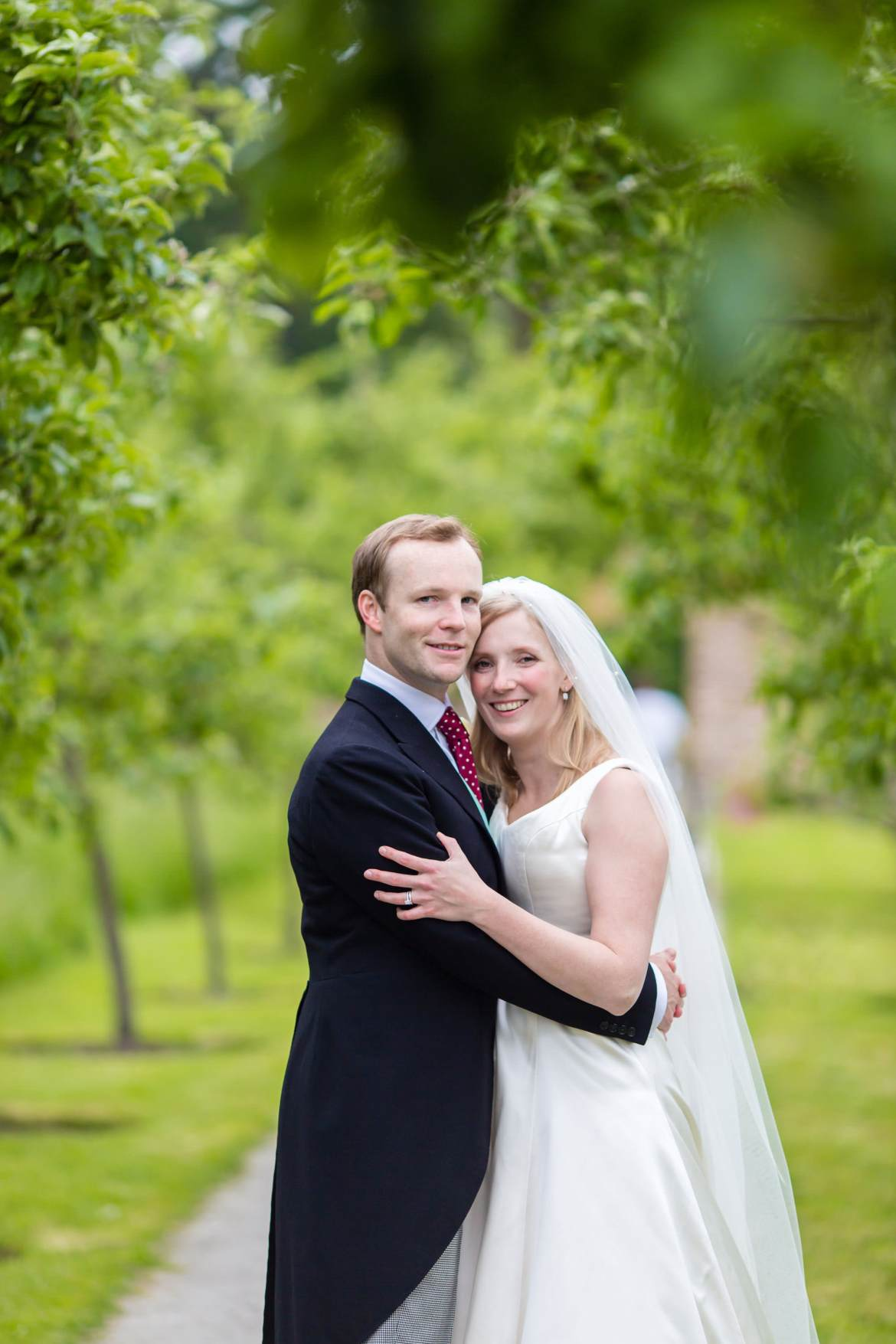 more Fulham Palace Wedding photos of the bride and groom