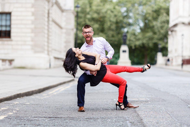 fun Best London Engagement Photos