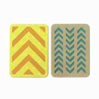 "Sizzix Thinlits Dies 3x 4"" cards 3"
