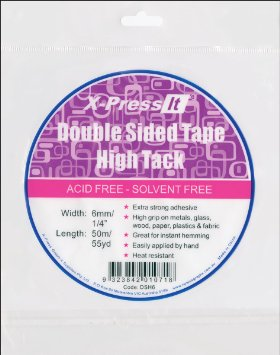 X Press It High Tack Double Sided Tape 6mm