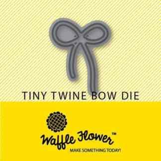 Waffle Flower Crafts Tiny Twine Bow Die