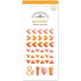 Doodlebug Designs tangerine arrow