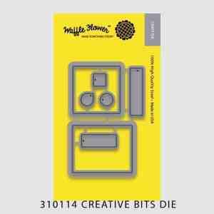 Waffle Flower Crafts Creative Bits Die