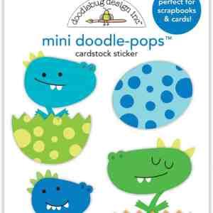 Doodlebug Design Doodle Pops Mini Dragon Babies